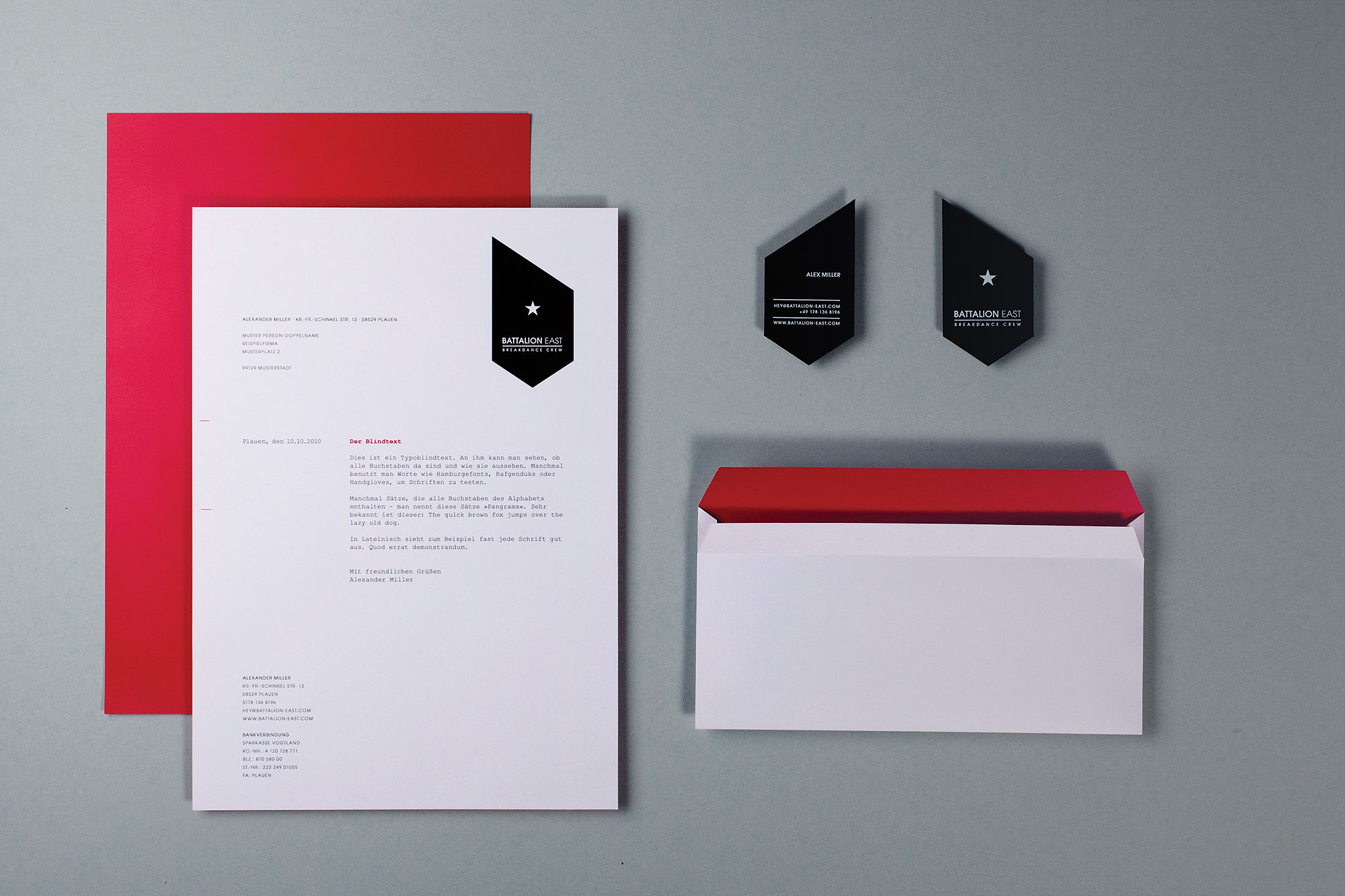 Battalion East Corporate Identity