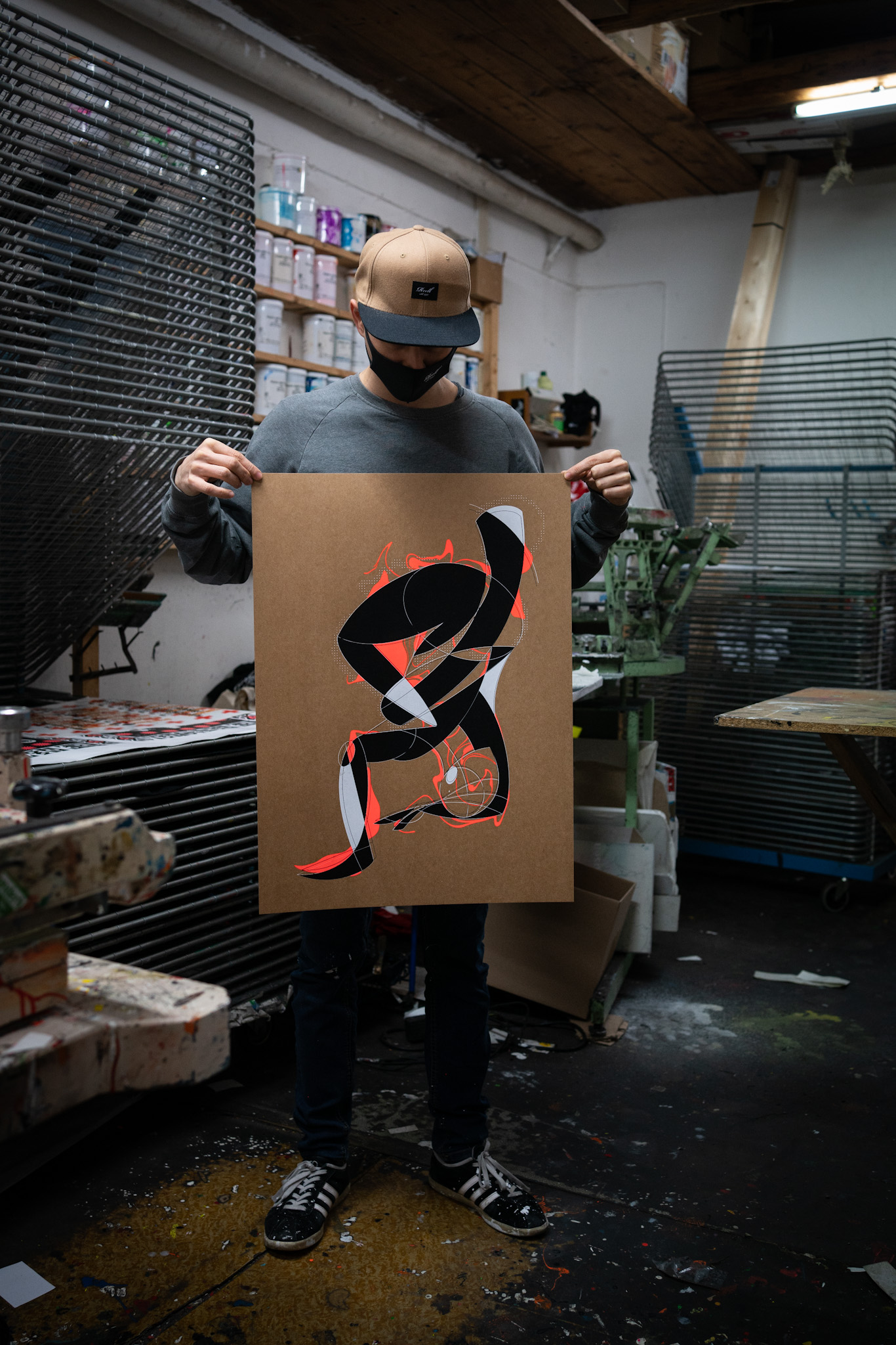 Freeze – Limited Edition Screen Print Poster